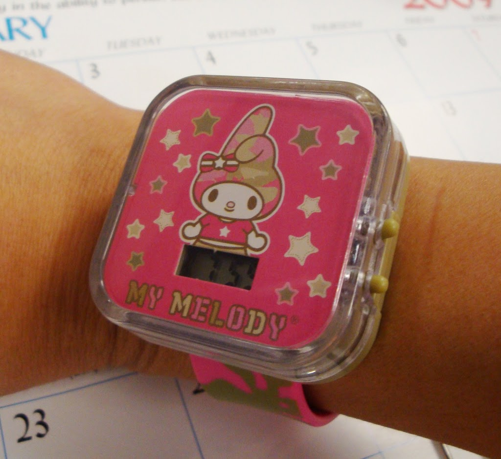 Hello Kitty watch from McDonald's