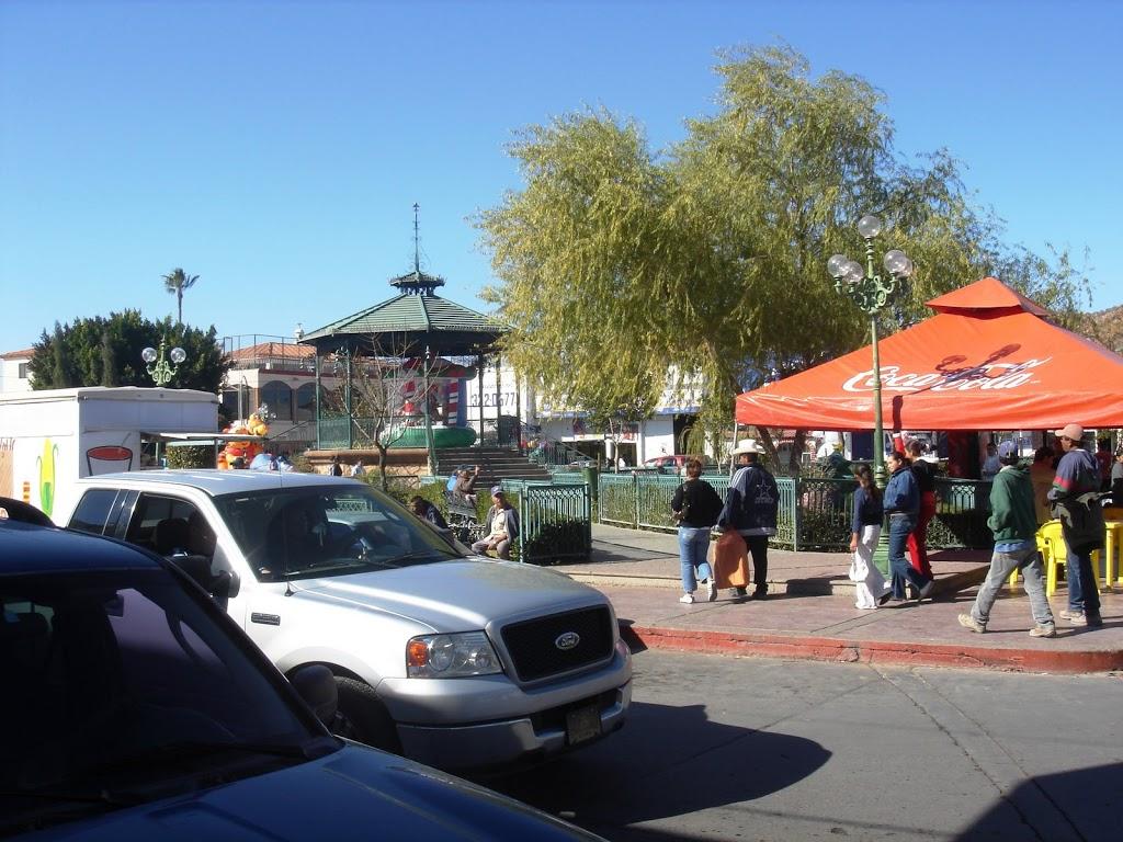 Town square in Magdalena de Kino