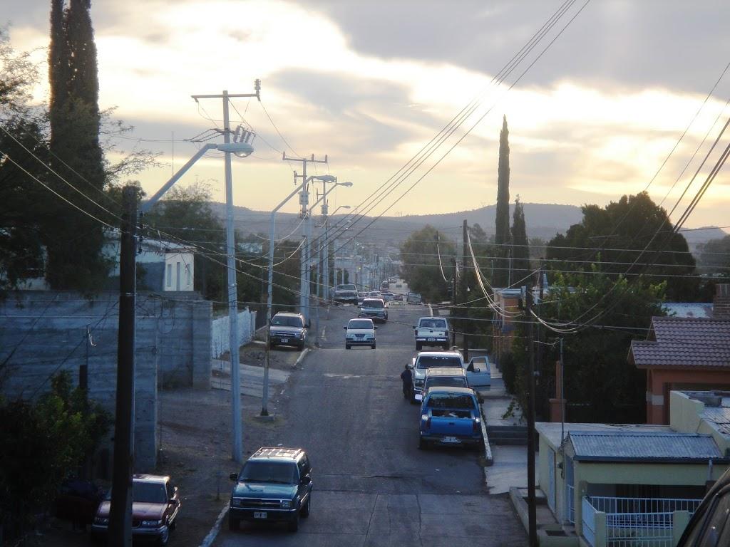 Street in Magdalena de Kino