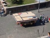 street vendors in Rome