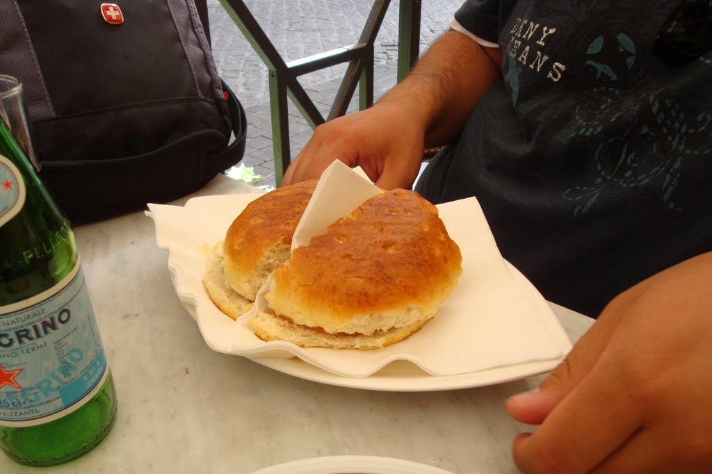 cheese pastry in Rome