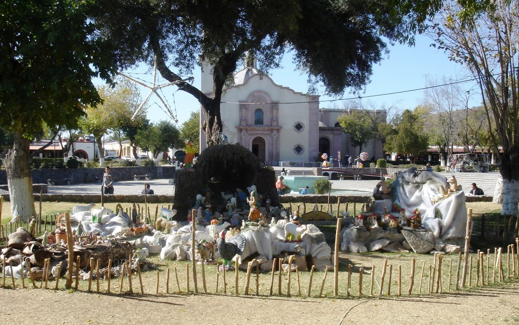 Nativity Scene in front of cathedral