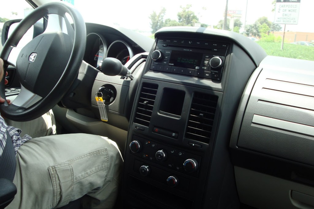 Dashboard of grand caravan