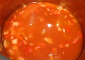 Sopa de estrellitas o fideo recipe
