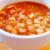 authentic Sopa de Estrellitas recipe to make at home, or sopa de fideo if you prefer that type of Mexican soup instead. Get the full recipe at livingmividaloca.com
