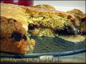 peanut butter chocolate breakfast cake