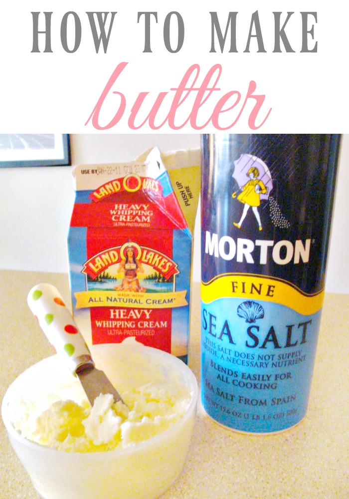 How to make butter-LivingMiVidaloca.com