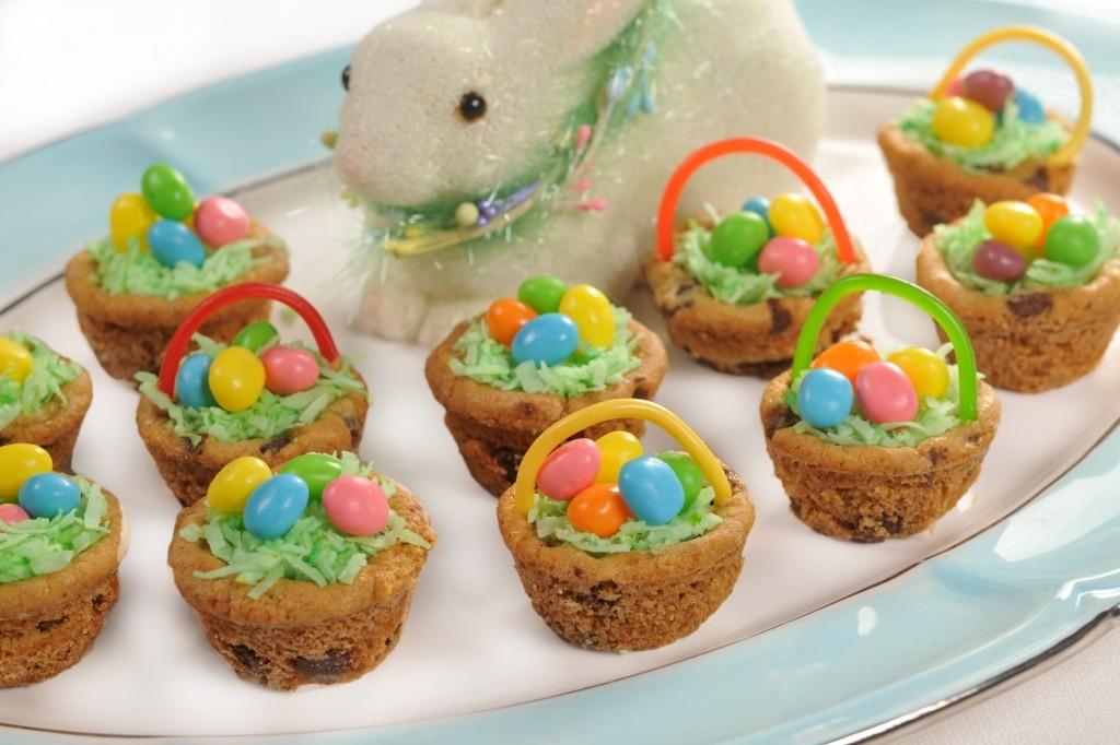 Easter Basket dessert - livingmividaloca.com