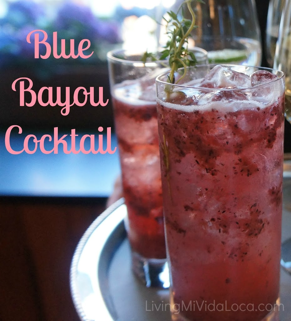 Blue Bayou Cocktail Recipe - LivingMiVidaLoca.com
