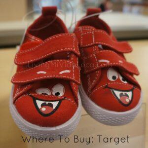 happy face shoes from target -- livingmividaloca.com