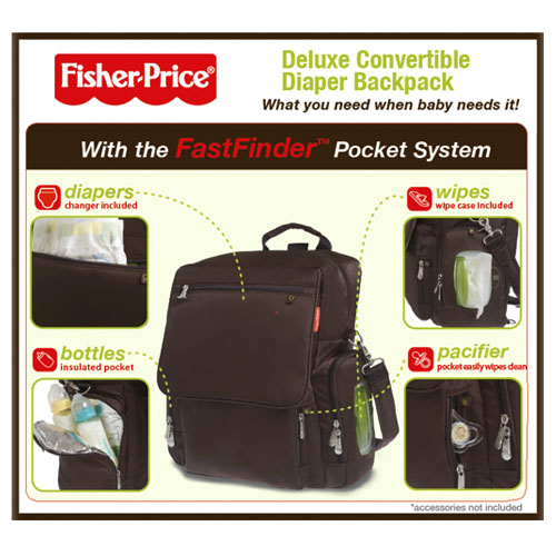 Fisher Price backpack review