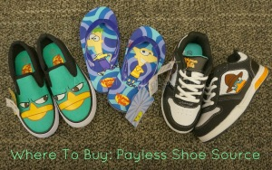 Phineas and Ferb Shoes at Payless Shoe Source