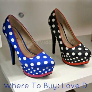 polka dot heels from love d -- livingmividaloca.com