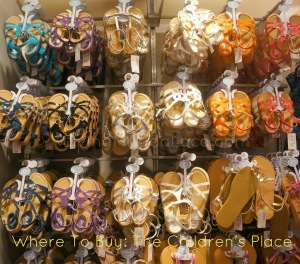 sandals from the children's place -- livingmividaloca.com