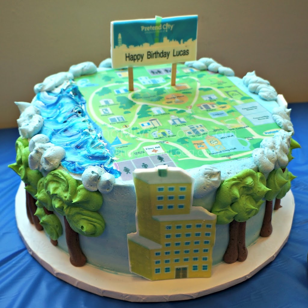 Pretend City birthday cake