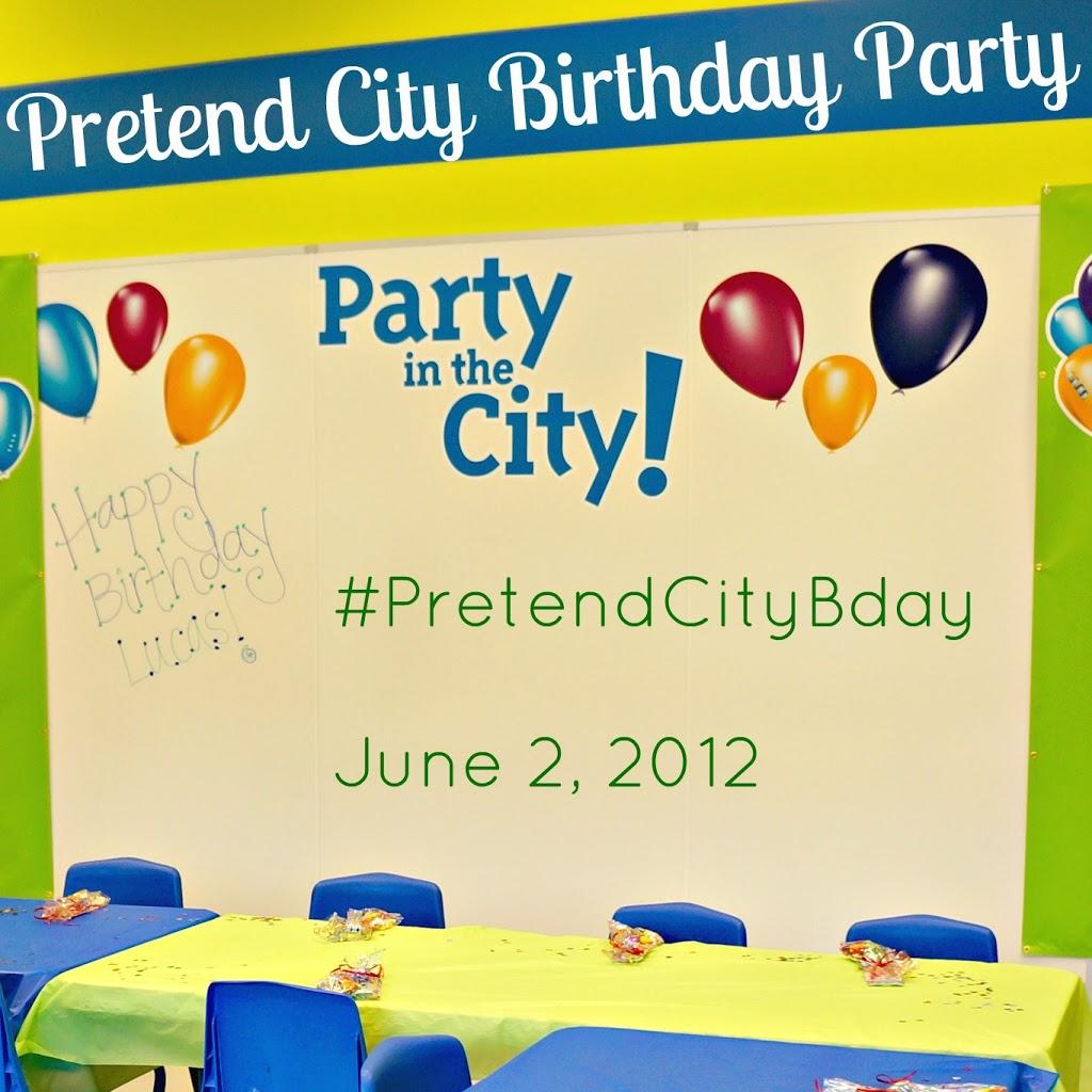 Pretend City Birthday Party