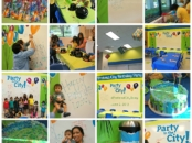 birthday party at Pretend City