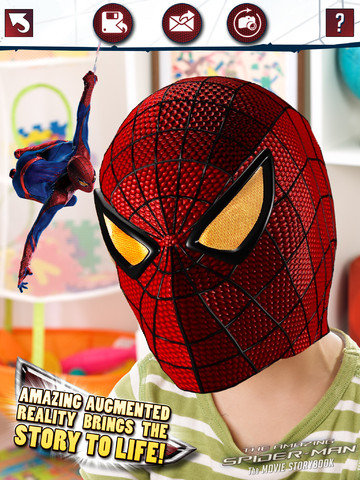 @Marvel's The Amazing Spider-Man Augmented Reality HD Book App for the iPad