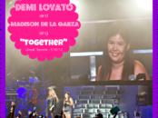 Demi Lovato and Madison De La Garza sing Together