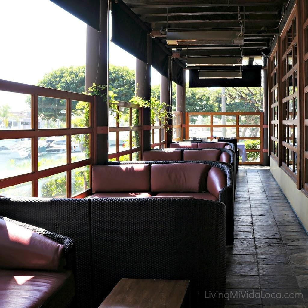 Corner Booth at restaurant
