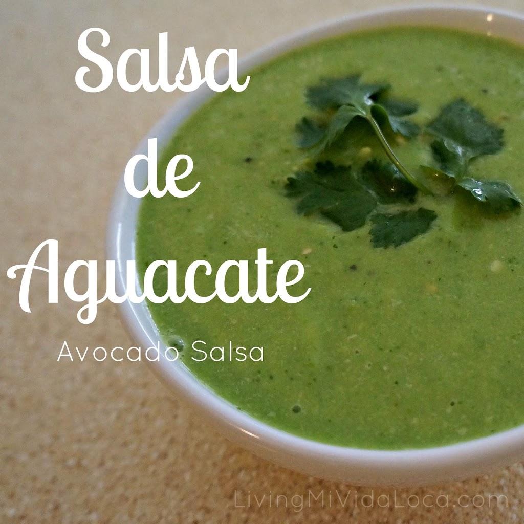 Salsa de Aguacate : Avocado Salsa