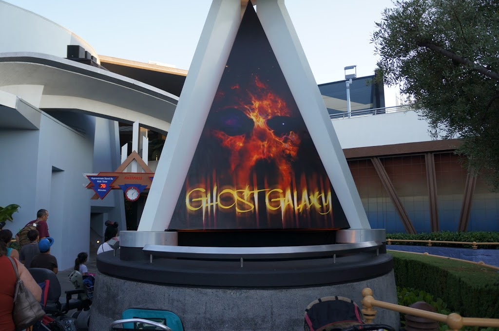 Ghost Galaxy at Disneyland