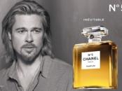 Brad Pitt for Chanel No 5