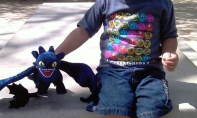 Logan with Toothless