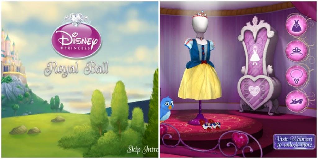 Disney Cinderella app
