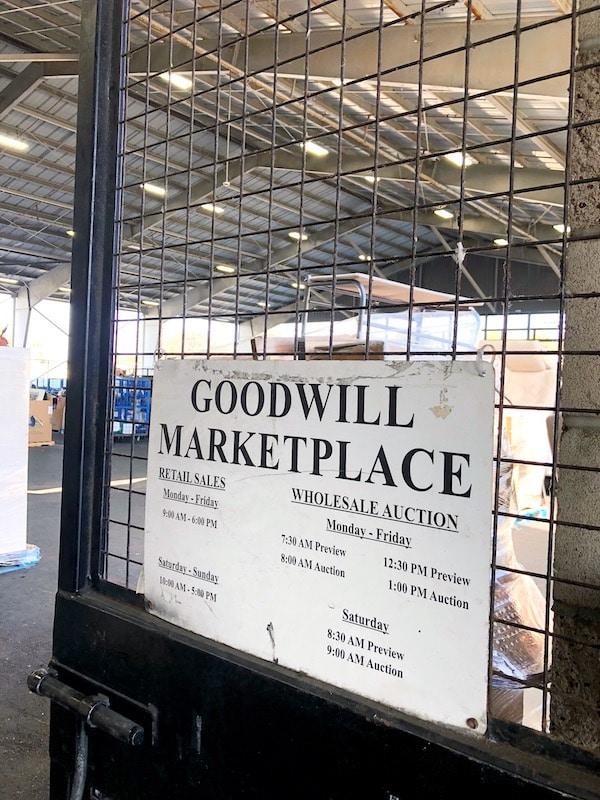 Goodwill Marketplace hours in Orange County - LivingMiVidaLoca.com