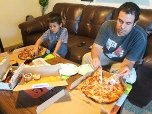 domino's pizza -- livingmividaloca.com