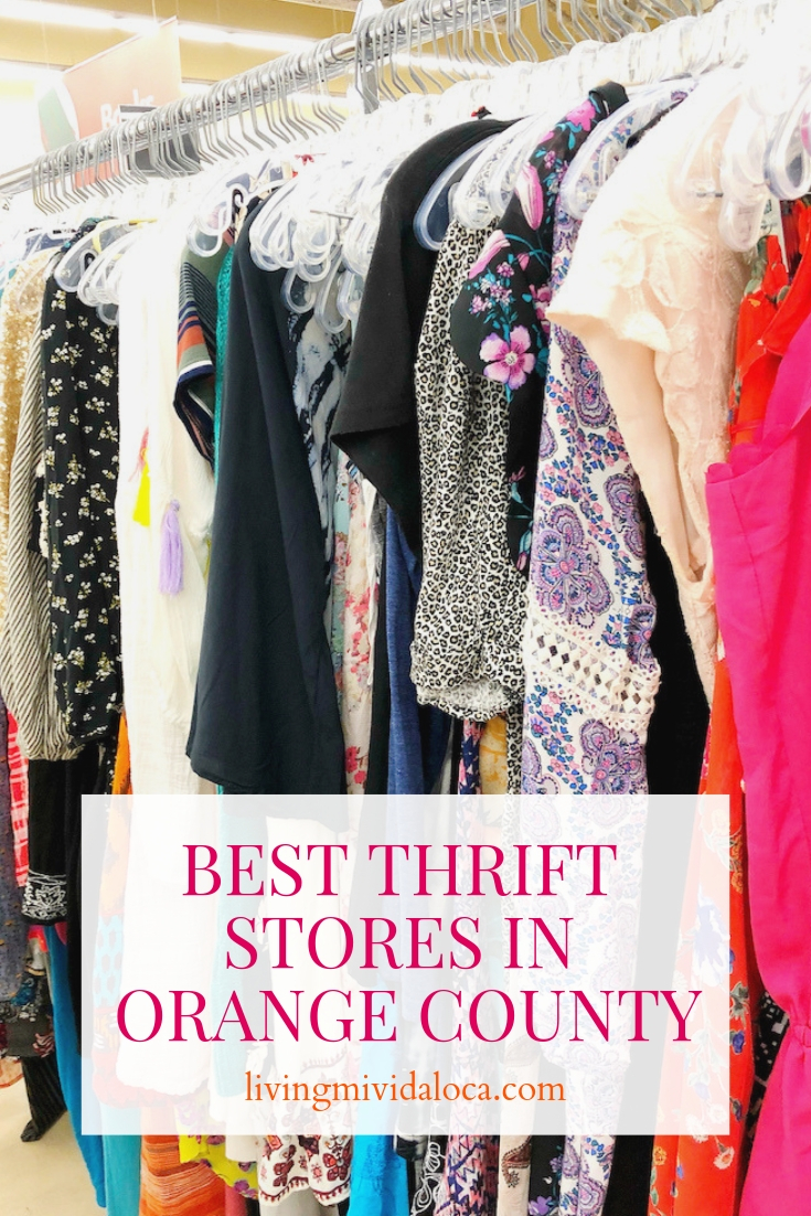 Best Thrift stores in Orange County - livingmividaloca.com - #LivingMiVidaLoca #OrangeCounty #ThriftStores #Thrifting