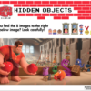 Wreck it ralph hidden objects activity sheet