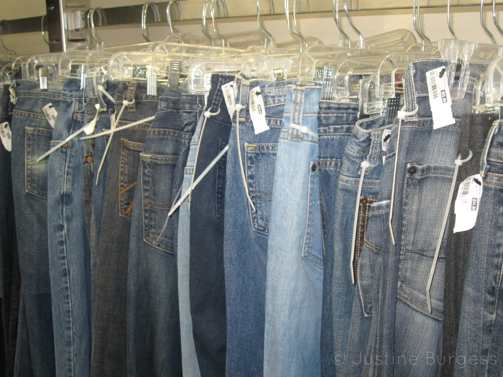 jeans at Goodwill