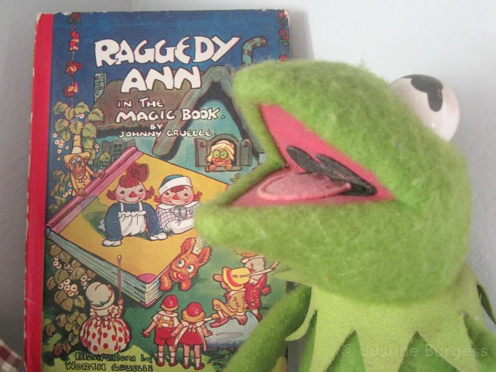 Kermit and Raggedy Ann