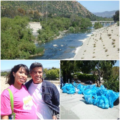 Esai Morales cleans up LA River
