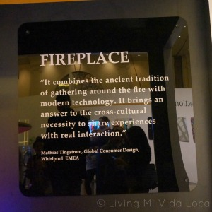 Whirlpool Fireplace at CES