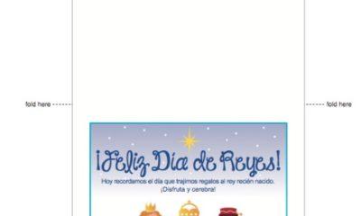 Dia de Reyes imprimible