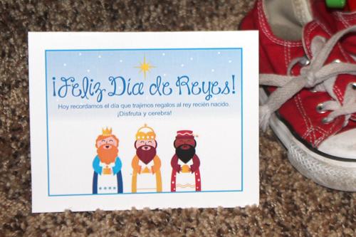 Feliz dia de Reyes