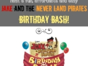 Jake and the Never Land Pirates birthday party
