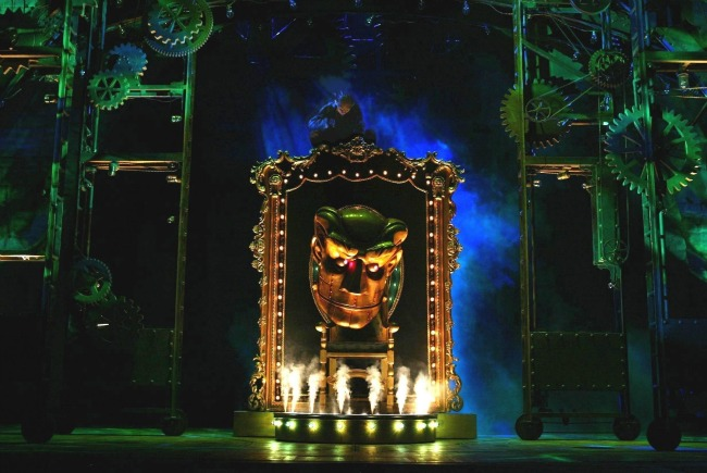 Wicked at Segerstrom Center in Costa Mesa