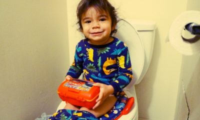 Baby potty training // livingmividaloca.com