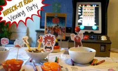 Wreck it Ralph home viewing party - livingmividaloca.com - #wreckitralph #disney