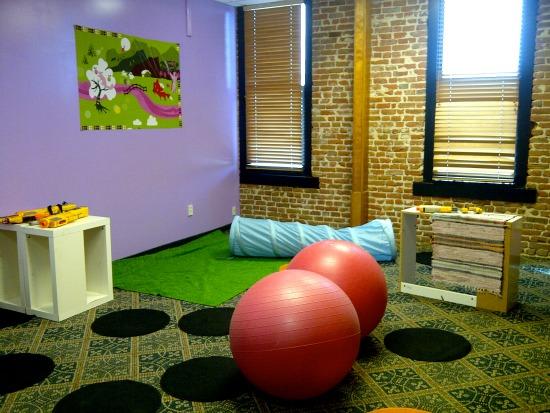 kids' gym room