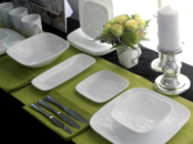 Corelle plates and bowls