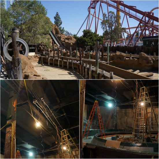 New log ride at Knott's