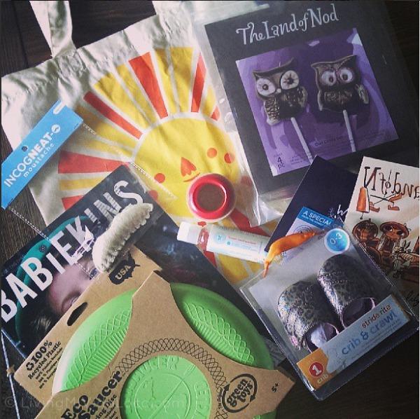 Land of Nod goodie bags // Land of Nod Costa Mesa // LivingMiVidaLoca.com