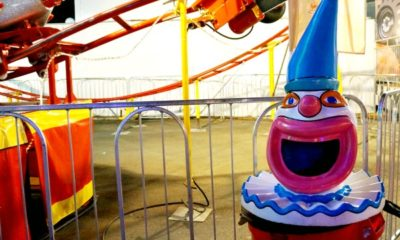 Trash can at OC Fair