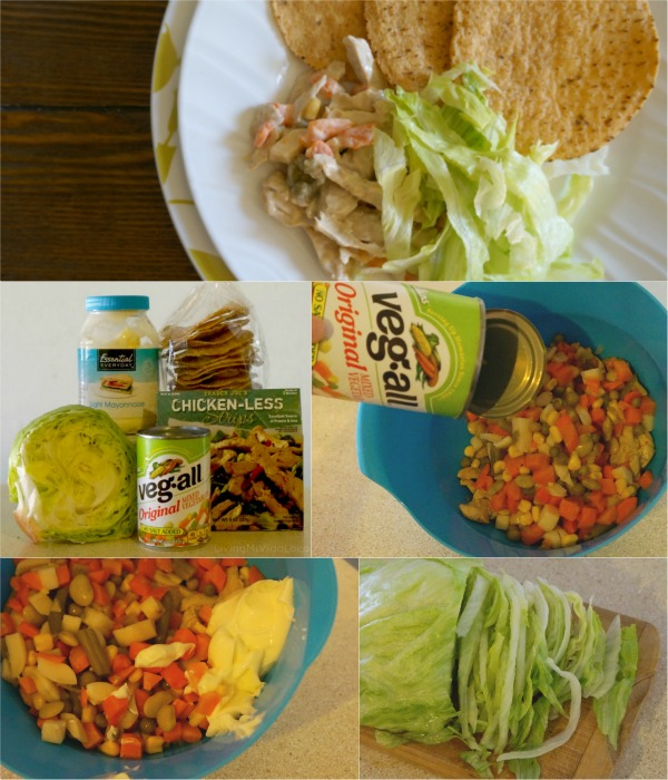 vegetarian chicken salad recipe