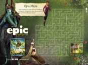 epic movie maze printable